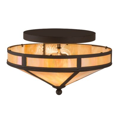 Craftsman Prime 2-Light Semi-Flush Mount