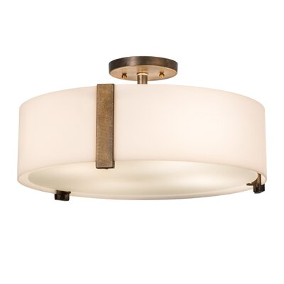 Cilindro 4-Light Semi-Flush Mount