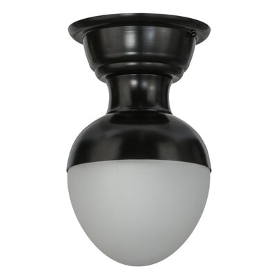 Huevo 1-Light Semi-Flush Mount