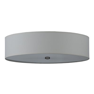 Cilindro Textrene 4-Light Flush Mount