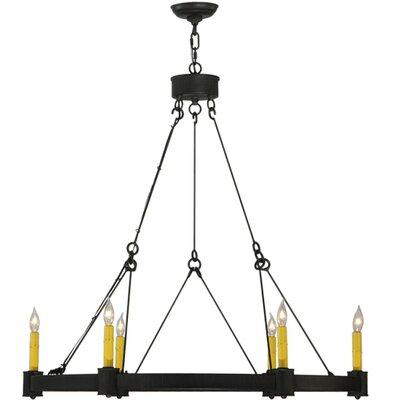 Kenosha 6-Light Candle-Style Chandelier