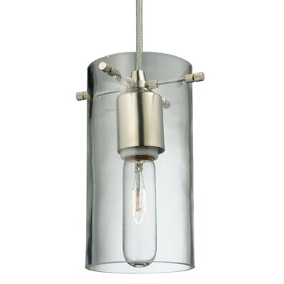 Metro Fusion Fire and Ice Granite Quadrato 1-Light Mini Pendant
