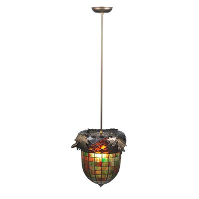 Greenbriar Oak 1-Light Inverted Pendant