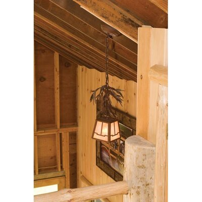 Pine Branch Valley View 1-Light Mini Pendant