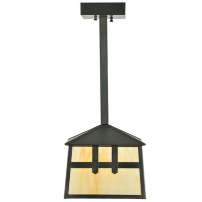 Stillwater Double Cross Mission 1-Light Pendant
