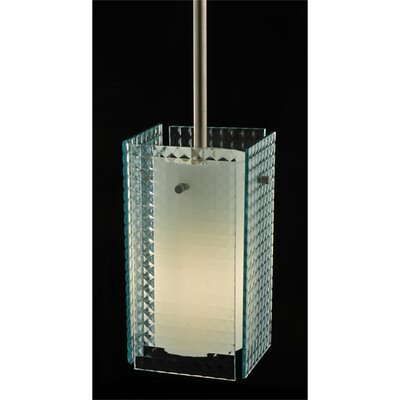 Metro Window Pane Quadrato 1-Light Mini Pendant