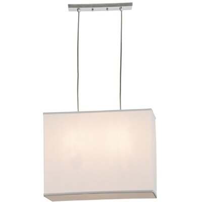 Quadrato 2-Light Geometric Pendant
