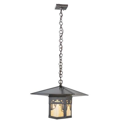 Seneca Victorian Web 1-Light Mini Pendant