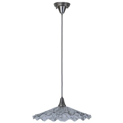 Metro Fusion Galatia Scalloped Branches 1-Light Mini Pendant