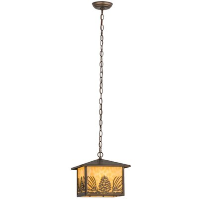Mountain Pine 1-Light Mini Pendant