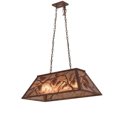Whispering Pines 6-Light Pool Table Light