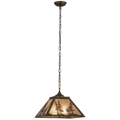 Tall Pines 2-Light Pendant Finish: Antique Copper