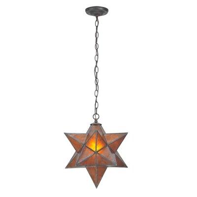Moravian Star 1-Light Mini Pendant
