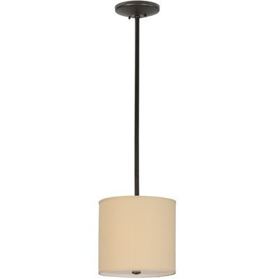 Cilindro Textrene 1-Light Drum Pendant