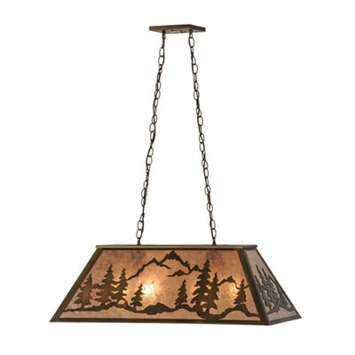 Mountain Range 6-Light Pendant