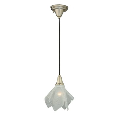 Metro Fusion Super Nova Handkerchief 1-Light Mini Pendant Shade Color: Transparent White Clear