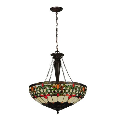 Creole 3-Light Inverted Pendant