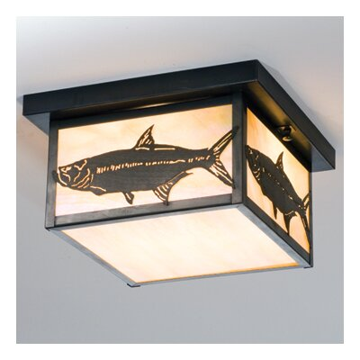 Tarpon 2-Light Flush Mount