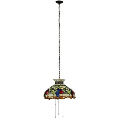 Fruit 3-Light Bowl Pendant