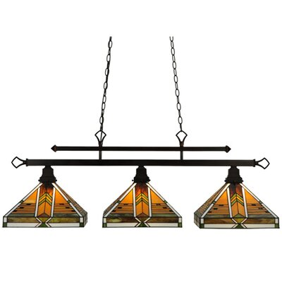 Abilene 3-Light Kitchen Island Pendant