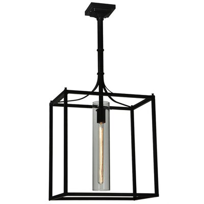 Kitzi Cylinder 1-Light Foyer Pendant
