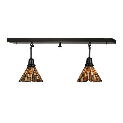 Jadestone Delta 2-Light Kitchen Island Pendant