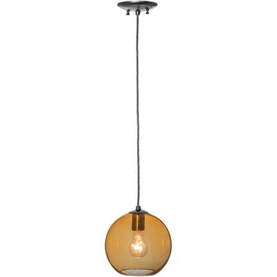 Bola Amber 1-Light Mini Pendant