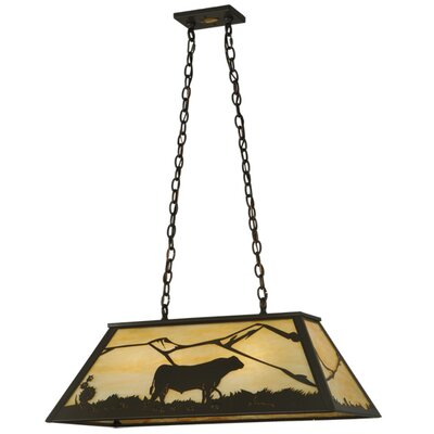 Steer 6-Light Pool table Pendant