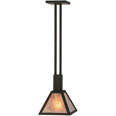 Soffe Mission 1-Light Mini Pendant