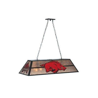 Arkansas Razorback 9-Light Pool Table Light