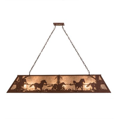 Wild Horses 9-Light Pendant