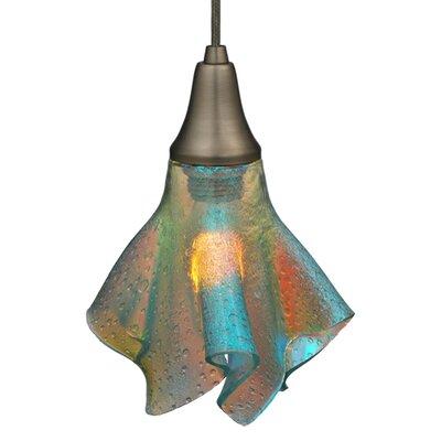 Metro Fusion Fire and Ice Handkerchief 1-Light Mini Pendant