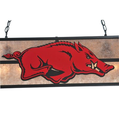 Arkansas Razorback 9-Light Pool Table Light