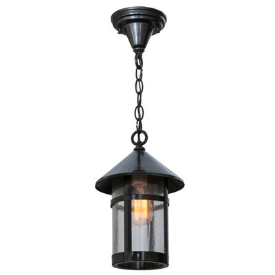 Craftsman Signature Fulton Hanging 1-Light Foyer Pendant