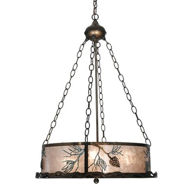Balsam Pine 4-Light Inverted Pendant