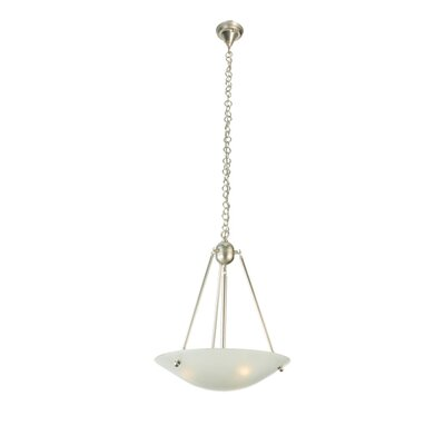 Metro Fusion Deco Ball 3-Light Inverted Pendant