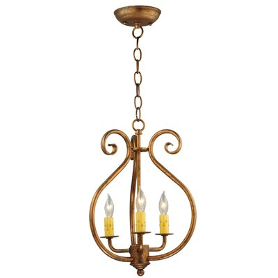 Easton 3-Light Foyer Pendant