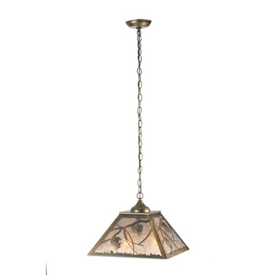 Whispering Pines 2-Light Geometric Pendant