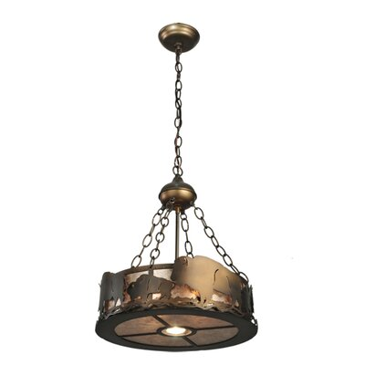 Buffalo 2-Light Inverted Pendant