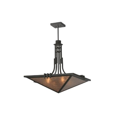 Lineage Mica 4-Light Inverted Pendant