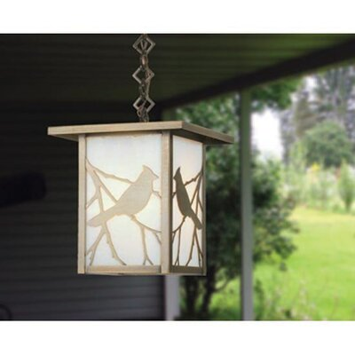 Hyde Park Song Bird 1-Light Mini Pendant