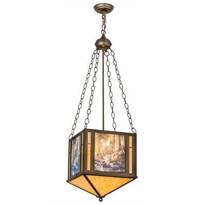 Maxfield Parrish The Glen 2-Light Inverted Pendant