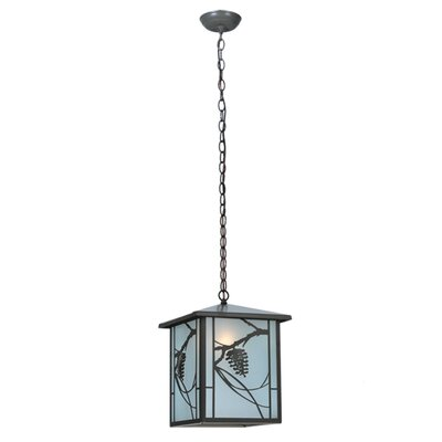 Whispering Pines Lantern 1-Light Foyer Pendant