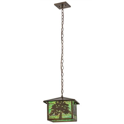 Oak Tree 1-Light Pendant Size: 43 H x 5.5 W x 12 D