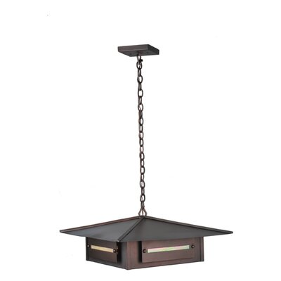 Moss Creek Creekside 4-Light Pendant Size: 14 - 44.5 H x 35 W x 35 D