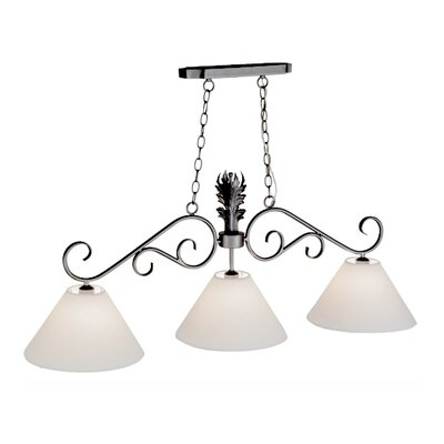 Monaco 3-Light Kitchen Island Pendant