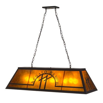 Personalized Regalo Ranch 9-Light Pool Table Lights