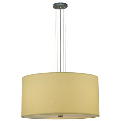 Cilindro 3-Light Drum Pendant