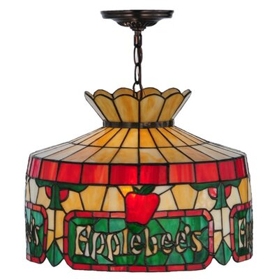 Personalized Applebees 1-Light Drum Pendant