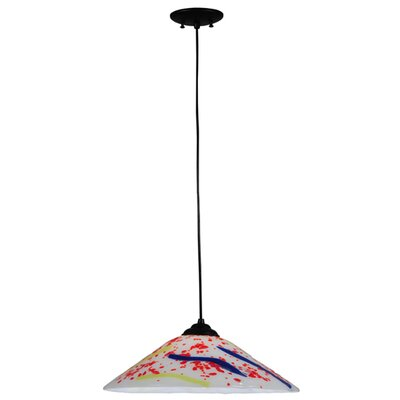 Metro Fusion Pizza 1-Light Mini Pendant